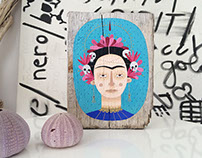 Tribute to Frida Kahlo by Isoì