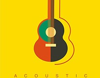 Acoustic guitar man