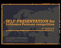 Presentation for Lufthansa Proteam contest (Aug, 2015)