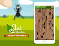 Ant Smasher Redesign - Interface Design and UX