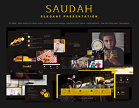 Saudah - elegant presentation powerpoint on etsy