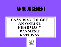 Easy way to get Online Pharmacy Payment Gateway