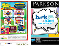 Parkson Back To School Mailer