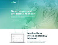 Mintmed - landing page