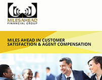 Brochure design for financial company