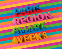 PARIS REGION SMART WEEK Poster