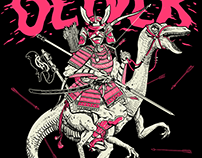 Samurai & Dinosaurs - Band Merch
