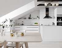 Scandinavian Apartment for BY Rydens #7