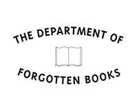 Logo & Concept - the Department of Forgotten Books Blog