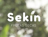 Sekin Frutas Secas - Identidade Visual
