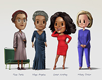 Women who shaped the world