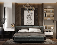 luxury bedroom design in jeddah