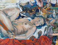 """""""Dollhouse"""", oil on canvas"""