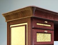 Визуализация мебели для кабинета