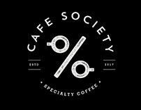 Cafe Society Brand Identity