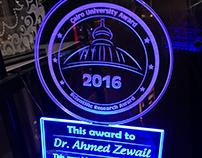 "Cairo University "" Award """