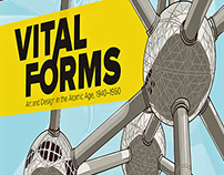 Vital Forms museum exhibition