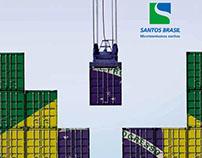 Santos Brasil :: Anúncio de jornal e revista