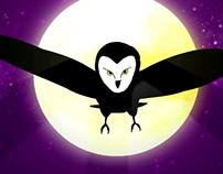 Owl Loop animation