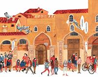 博洛尼亚童书展的活动宣传海报之一
