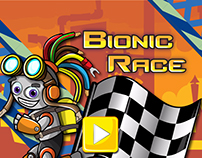 Bionic Race - HTML5 Running Game