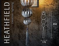Heathfield & CO creative lighting 3D models