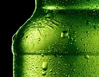 Ретушь бутылок, нанесение этикетки EFES/ БЕЛЫЙ МЕДВЕДЬ