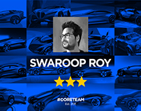 1   Swaroop Roy   #CORETEAM