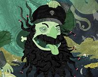 The Tale of Black Beard's Ghost