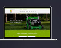 Smart Garden Web Design
