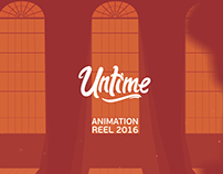 Untime: Animation Reel 2016