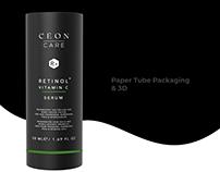 Dropper Label design paper tube