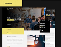 Golden Ratio Systems. Website Design