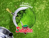 Redesign do logotipo e embalagens erva-mate Sabadin