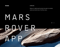 Mars Rover App for Faraday Future