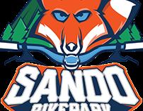 SandoBikepark logo design