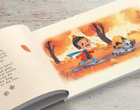 "Children's Book Illustration ""My dog"""