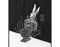 兔厕 Rabbit toilet
