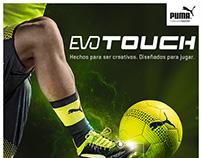 Infografía EvoTouch Puma