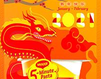 5 Minute pasta Poster