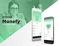 Monefy - App Redesign