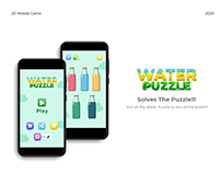 Water Puzzle 2D Mobile Game
