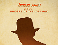Indiana Jones Trilogy Minimal Posters