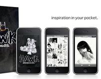 Hawk Sketchbook App