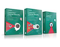 Antivirus Software - Packaging Illustrations
