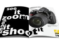 Neville Brody & Nikon Spreads