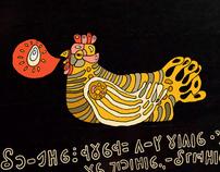 Russian folk tale Chicken Ryaba