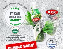 Aloic promo web design