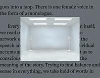 Monologue - Audio Installation