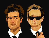 "HIMYM ""Bros in Black"""